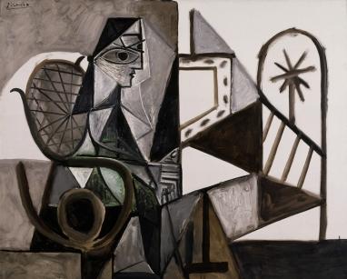 FJJMA-Picasso-Woman in Studio