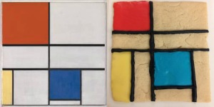 Mondrian Cookie