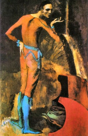 the actor by Picasso